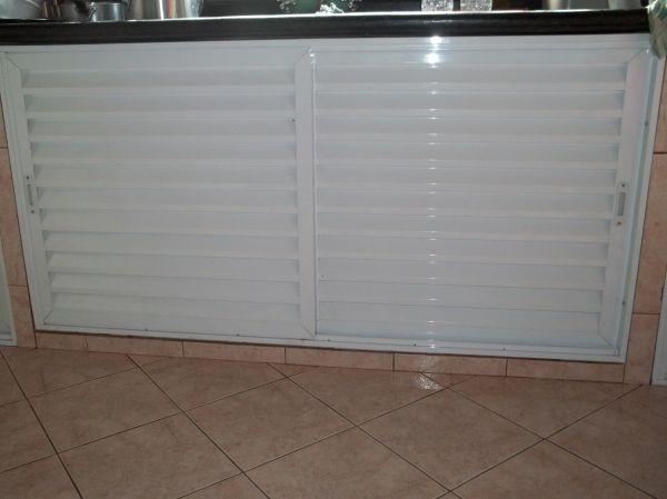Artesanato Sustentavel No Tocantins ~ portinhola em aluminio branco serralheria art e styllo